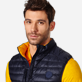 Others Solid - Unisex Sleeveless Down Jacket Solid, Navy supp1