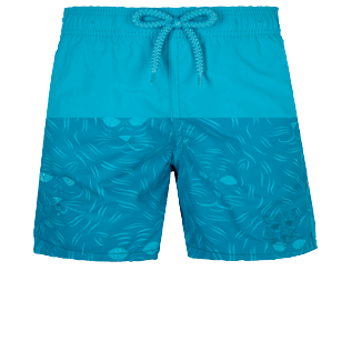 男童 Others 神奇 - Boys Swimwear Bengale Tigers Water-reactive, Light azure frontworn