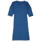 Women Others Solid - Women Linen Dress Solid, Goa back