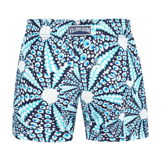 Girls Others Printed - Girls Swim short Oursinade, Navy back