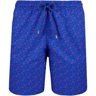 Men Long classic Printed - Men Long swimtrunks Micro Ronde Des Tortues, Sea blue front