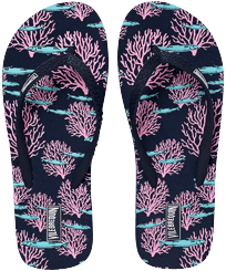 Women Others Printed - Women Flip Flops Coral & Fish, Navy front