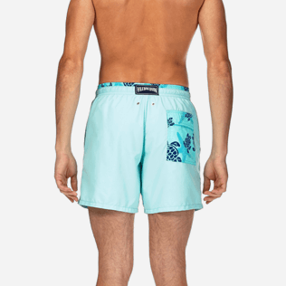 Men Classic / Moorea Solid - Starlettes et Turtles Bicolor Swim shorts, Lagoon supp2