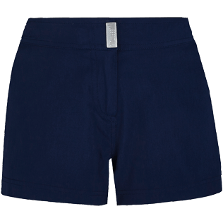 Women Others Solid - Women Stretch swim short Solid, Navy front