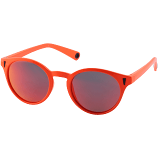 Others Solid - Unisex Floaty Sunglasses Solid, Neon orange back