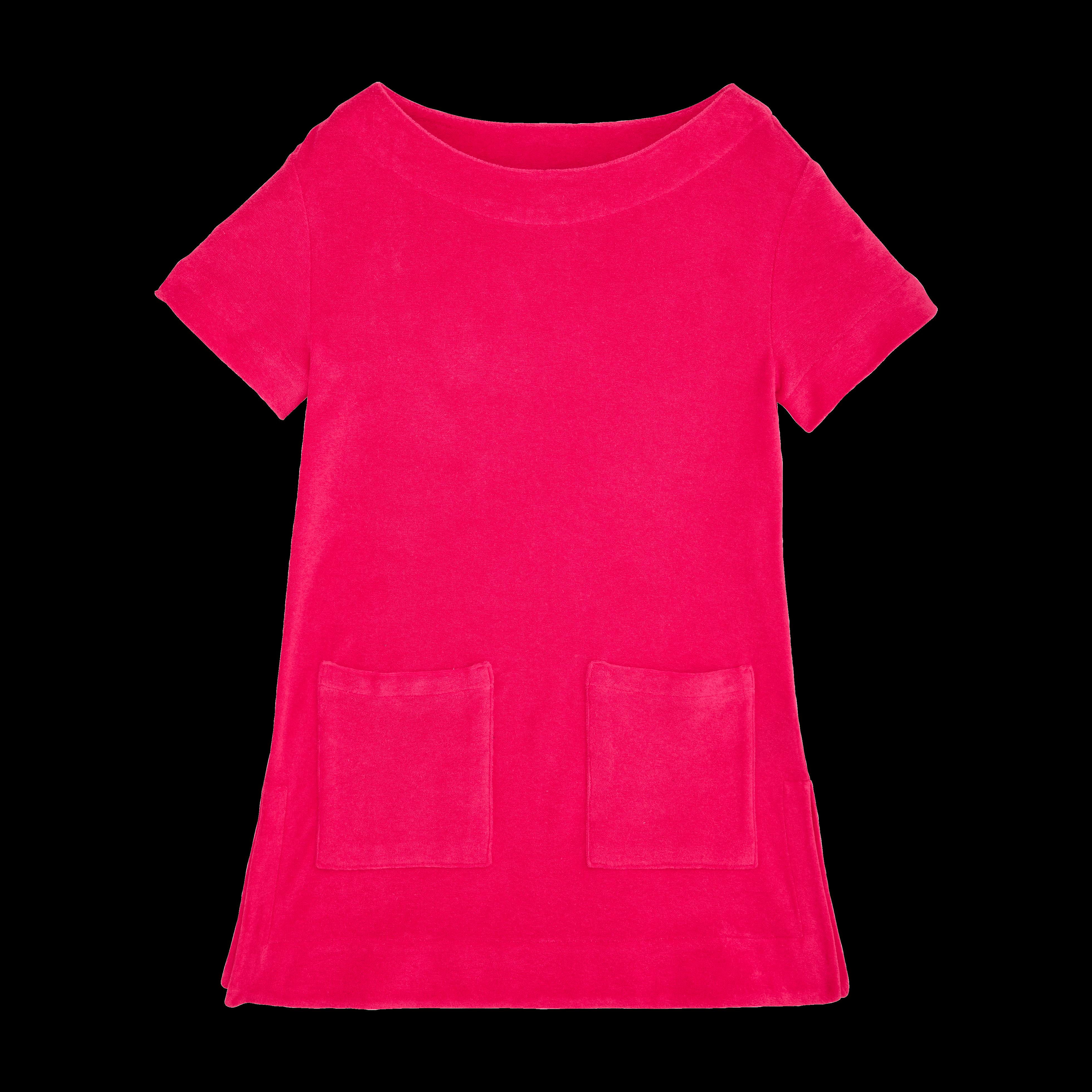 VILEBREQUIN | Girls Ready to Wear - Girls Terry Cloth Dress Solid - DRESS - GELATA - Pink - 14 - Vilebrequin | Goxip