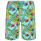 Hombre Clásico largon Estampado - Men Swimwear Long Go Bananas, Lazulii blue front