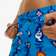 Men Classic Printed - Men Swimwear Totem - Vilebrequin x JCC+ - Limited Edition, Swimming pool supp1