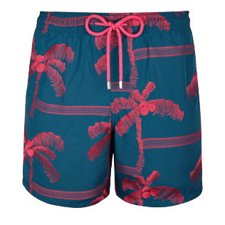 Men Embroidered Embroidered - Men Swimtrunks Embroidered Palmiers - Limited Edition, Spray front