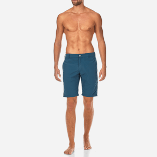 Men Others Solid - Men Straight Swimwear fabric Bermuda Shorts Solid, Spray frontworn