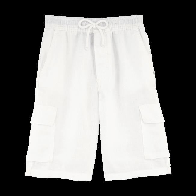 Vilebrequin - Linen bermuda shorts - 1