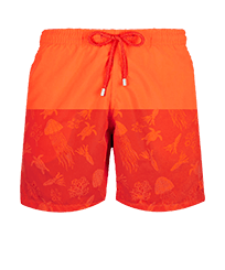 Men Classic Magic - Men Swim Trunks Rocket Medusa Water-reactive, Medlar front