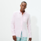 Men Others Solid - Men Linen Shirt Solid, Ballet shoe supp3