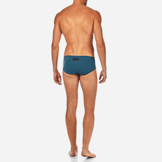 Men Short, Fitted Solid - Solid Jersey Solid swim briefs, Spray backworn