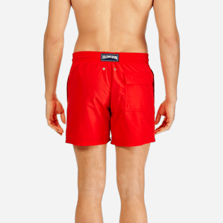 Men Classic / Moorea Printed - Men Water-Reactive Swimwear Magic Whales, Poppy red supp2