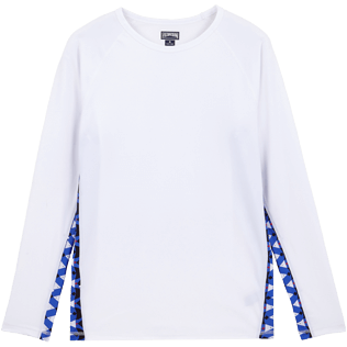 Men Others Printed - Men Rashguard Re Mi Fa Soles, White front