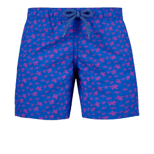 Boys Others Printed - Boys Swimwear Micro Ronde Des Tortues, Sea blue front