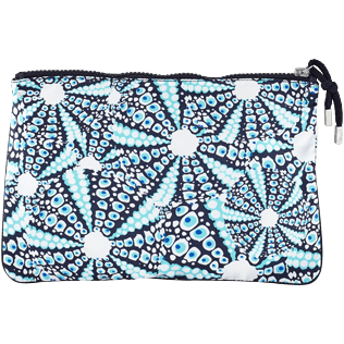 Others Printed - Beach Pouch Oursinade, Navy back