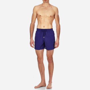 Men Classic Solid - Men Swimtrunks Solid, Ultramarine frontworn