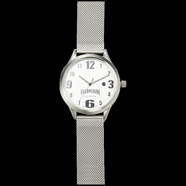 Vilebrequin - Metal Mesh Silver Watch - 1