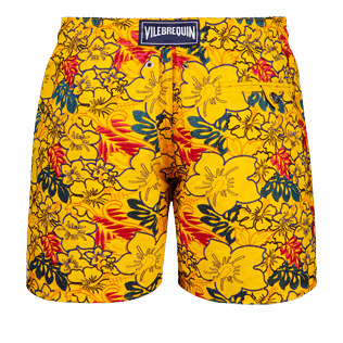 Men 017 Printed - Men Embroidered Swimwear Porto Rico - Limited Edition, Mango back