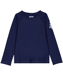 Others Solid - Kids Long Sleeves Rashguard Solid, Navy front