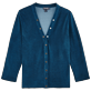 Women Others Solid - Women Terry Cloth Cardigan Sweaters Solid, Spray front