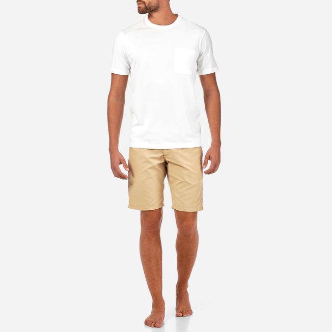 Vilebrequin - T-shirt en Jersey de Coton Pima Homme Uni - 3