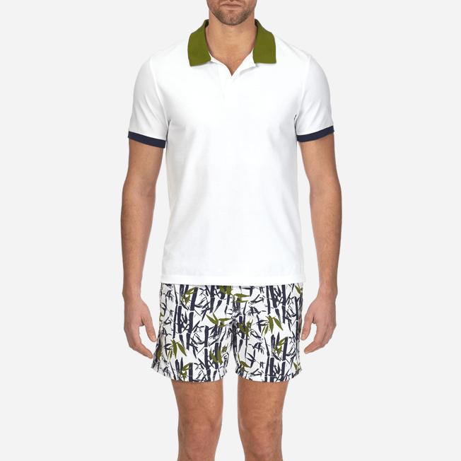 Vilebrequin - Polo en Piqué de Coton Homme Multicolore - 5