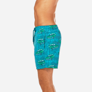 Men Classic / Moorea Printed - Dip Dye Taxis Swim shorts, Prussian blue supp3