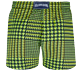 Men Stretch classic Printed - Men Swim Trunks Stretch Crocros, Grass green back