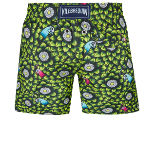 Boys Others Printed - Boys Swimwear Where is my peacock, Lemongrass back