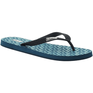 Men Others Printed - Men Flip Flop Micro ronde des tortues, Spray back