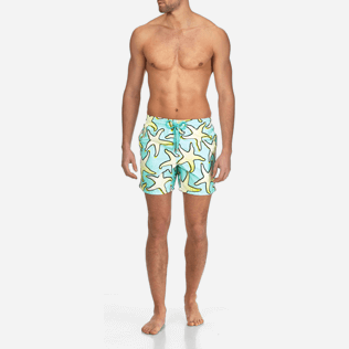 Men Classic Printed - Men Swimtrunks Starfish Art - WEB EXCLUSIVE, Lagoon frontworn