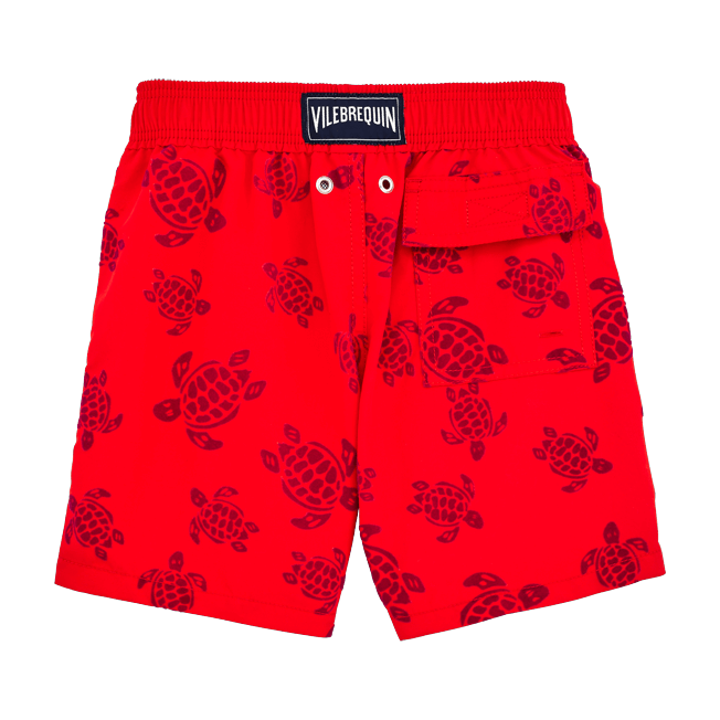 Vilebrequin - Flocked Turtles Swim shorts - 2