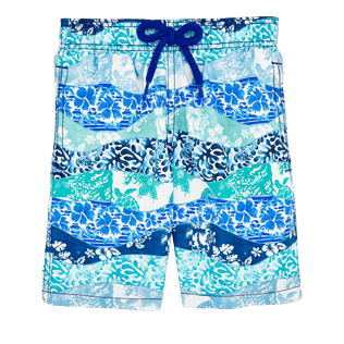 Boys Others Printed - Boys Swimtrunks Vague Heritage, Navy front
