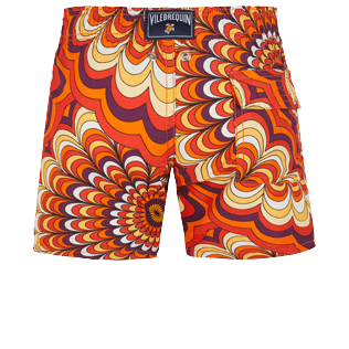 Boys Others Printed - Boys Swimwear 1975 Rosaces, Apricot back