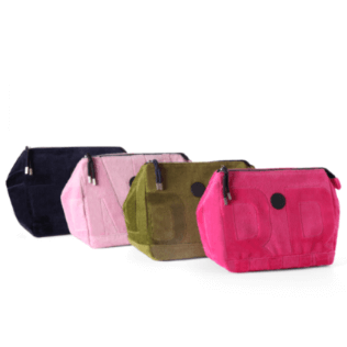 Autros Estampado - Zipped Terry Pouch - Color assigned at random to your order, Unica color front