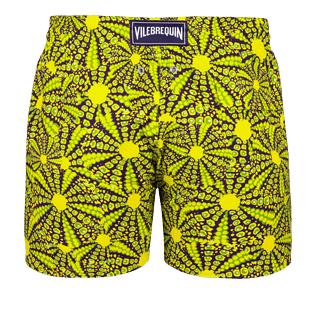 Men Stretch classic Printed - Men Stretch swimtrunks Oursinade, Acacia back