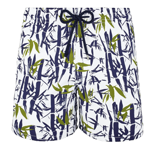 Men Classic / Moorea Printed - Men Swimwear Bamboo Song, White front