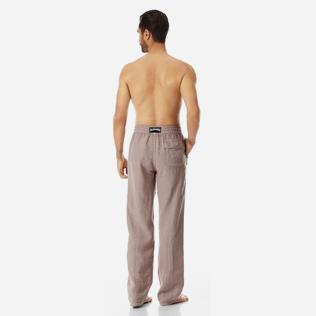 Men Others Solid - Men Linen Pants Solid, Safari backworn