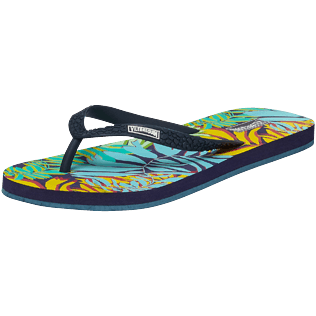 Mujer Autros Estampado - Women Flip Flops Jungle, Midnight blue back