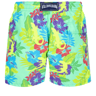 Men Classic Printed - Men Swimwear Les Geckos, Cardamom back