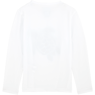 Others Printed - Kids Long Sleeves Rashguards Solid, White back