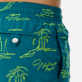 Men Embroidered Embroidered - Men Embroidered swimtrunks St Tropez - Limited Edition, Pine wood supp1