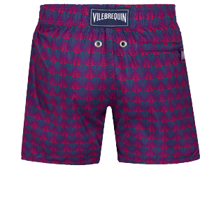 Boys Others Printed - Boys Swimwear Ultra-light and packable Perspective Fish, Plum back