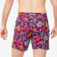 Men Classic Embroidered - Men Swim Trunks Embroidered Tropical turtles - Limited Edition, Kerala supp1