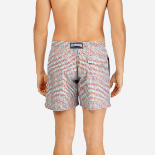Men Classic Printed - Men Swimtrunks Modernist Fish, Lagoon supp2