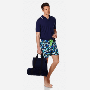 Men Classic Printed - Men Swimtrunks Baha Mar designed by John Cox - Limited Edition, Navy supp2