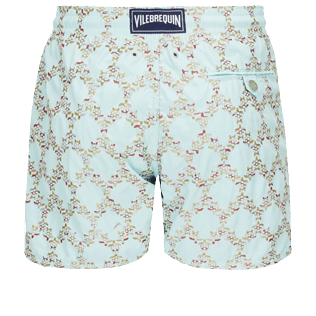 Men Embroidered Embroidered - Men Swim Trunks Embroidered - Limited Edition, Acqua back